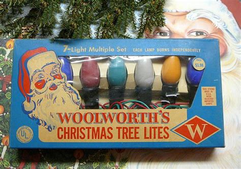 1950 s woolworths christmas tree light set via flickr