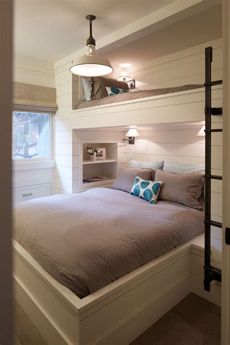 12 inspirational exles of built in bunk beds contemporist