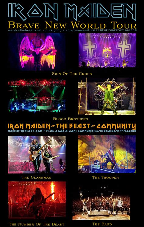brave new world tour iron maiden the beast