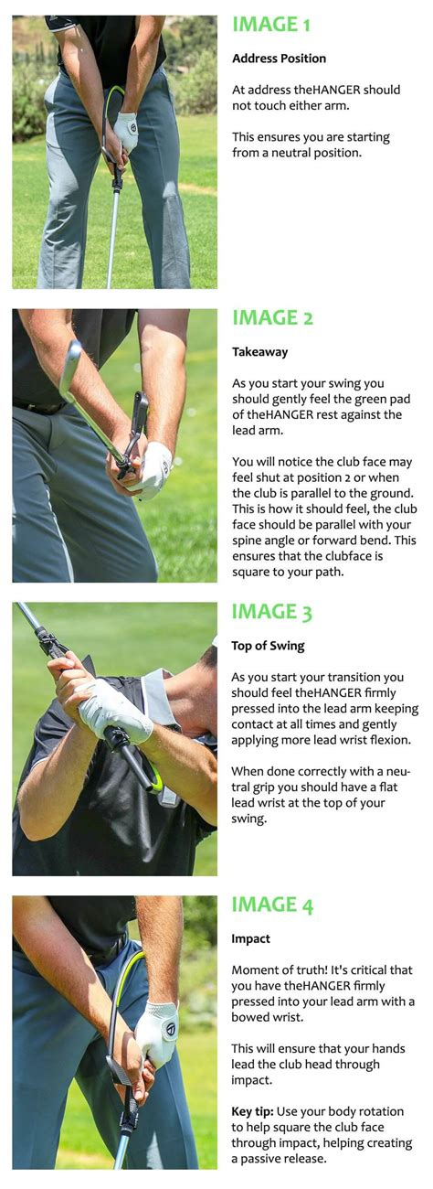 Golf Swing System - the hanger golf swing aid golf swing systems