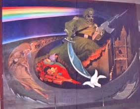 Denver Airport Wall Murals strange facts of denver airport i like stories with true