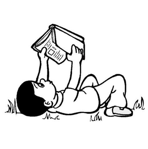 imagenes para colorear educativas leyendo en cualquier lugar dibujalia dibujos para