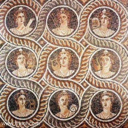 imagenes de musas inspiradoras portraits of the muses ancient greco roman mosaic