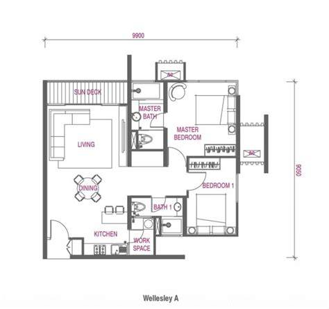 Wellesley Floor Plans | review for wellesley residences butterworth propsocial