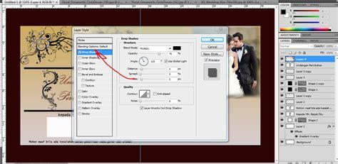 tutorial photoshop keren dan mudah tutorial photoshop cara membuat undangan pernikahan keren