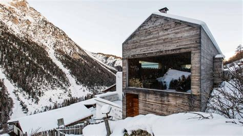 alpine architecture modern alpine farmhouse renovation kontaktmag
