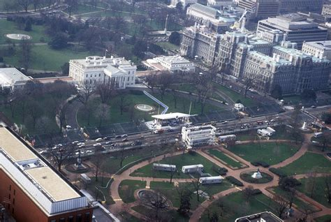 house of photography file aerial photography william j clinton presidential inauguration aerial of white