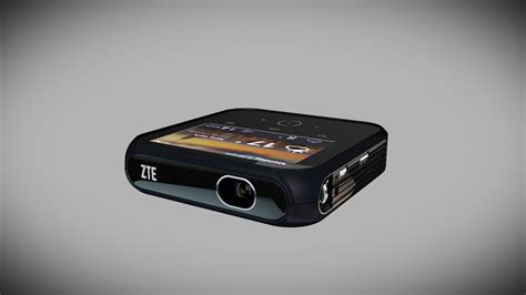 Zte Projector Hotspot Zte S New Portable Hotspot Doubles As A Projector The Verge