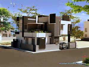 240 Yard Home Design beautiful front elevation house design by ashwin architects