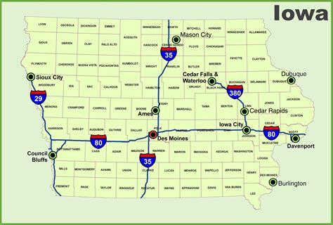 map usa iowa iowa map usa my