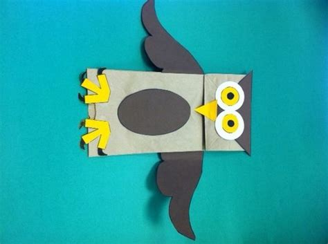 Paper Bag Puppets Owl Paper And Paper Bags On Pinterest Dtlk Crafts