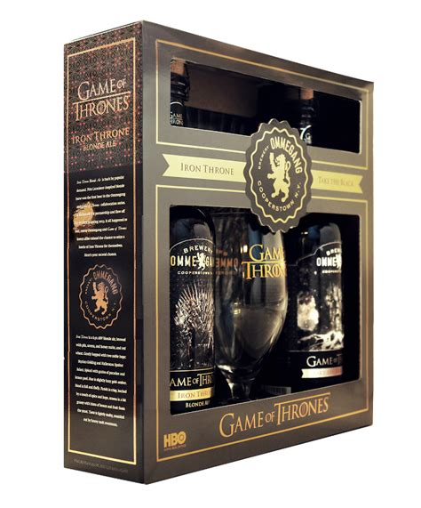 game of thrones gifts ommegang to re release two game of thrones beers gift set