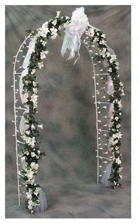 Arch Reception Wedding 200 Net Lights Decor Arbor Prom