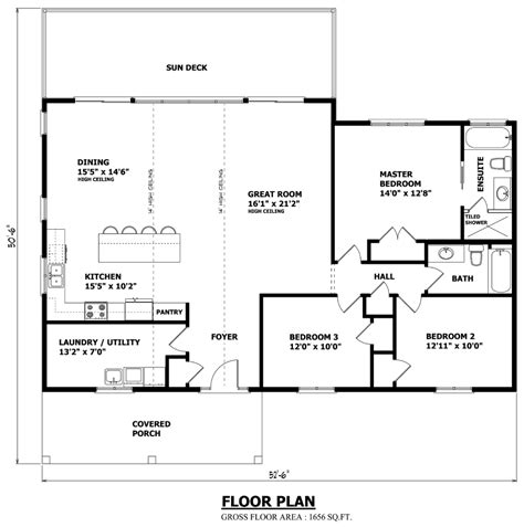 cottage house plans one floor muskoka cottage floor plans