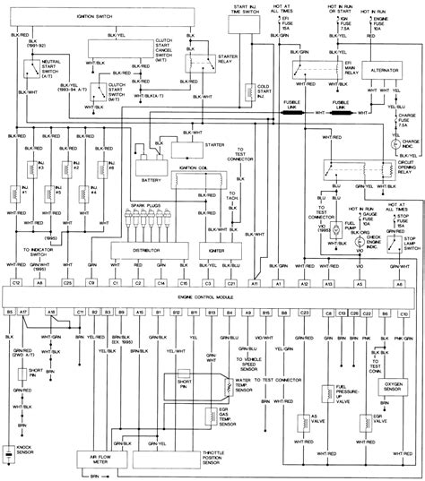1986 toyota headlight wiring diagram wiring diagram