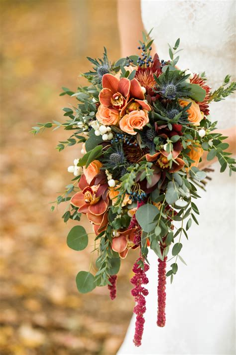 Fall Wedding Flower Pictures by Fall Wedding Bouquet Peters Photography