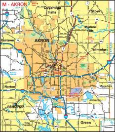 Akron Ohio Map by Alfa Img Showing Gt Akron Ohio City Map