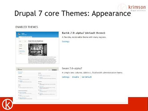 drupal theme update drupal7 theming