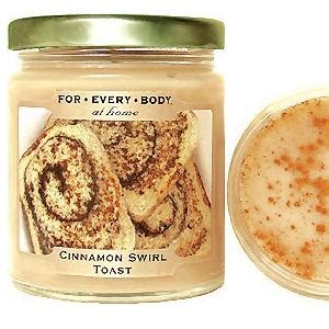 cinnamon toast classic home baked 7oz candle in jar