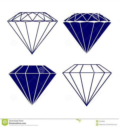 eps format till jpg diamond symbols vector illustration stock photo image