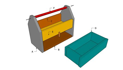 wooden tool chest plans   build diy
