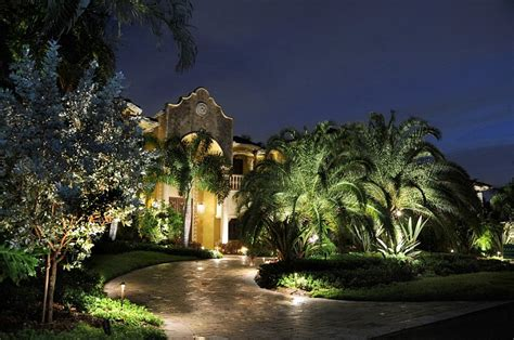 Landscape Lighting Ideas Inviting Serene Outdoor Landscape Lighting Options