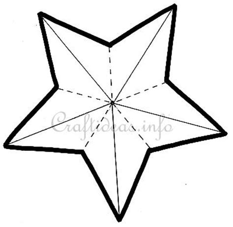 pattern for a christmas star 5 point star template craft pattern 5 pointed star