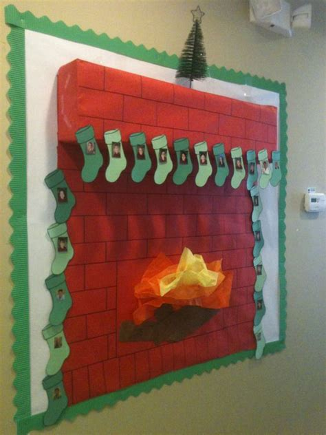 my staff christmas bulletin board that i made at work i