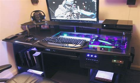 ultimate gaming desk ultimate gaming desk roccaforte gaming desk swordfish