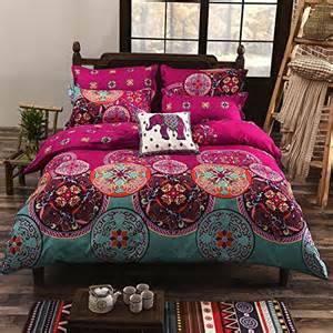 Amazon King Duvet Cover 3 Pc Oriental Mandala King Bed Size Duvet Cover Set Pink