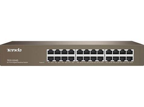gigabit switch 24 port tenda 24 port gigabit rack mount switch scoop