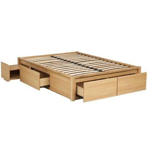Platform Bed Plans With Drawers by Diy King Size Platform Bed Storage Nortwest Woodworking