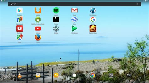aptoide x86 run android nougat live on your pc with andex project