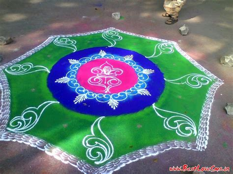 Handmade Rangoli Designs - indian festive season 2017 simple free rangoli