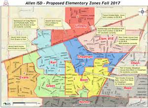 fort worth zoning map way for new school allen isd unveils elementary