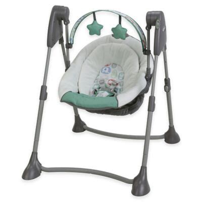 portable baby swings that plug in buy swing frame from bed bath beyond