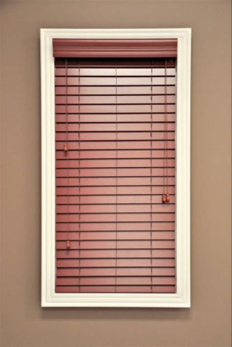 Faux Wood Window Blinds 2 Cherry Faux Wood Window Blind Custom Width X 64 Quot L
