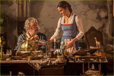 emma watson something there emma watson sings from beauty the beast in official