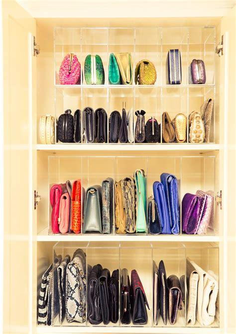 Bag Organizer Closet by 25 Best Ideas About Bag Organization On Bag