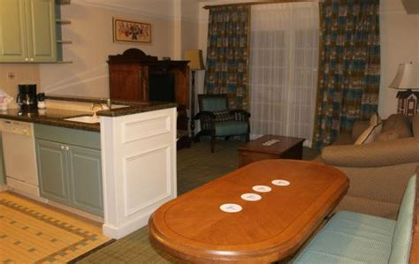 saratoga springs 1 bedroom villa view to disney springs from congress park pool picture