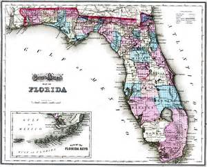 atlas map of florida gray s atlas map of florida 1875