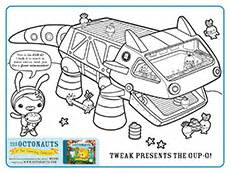 free coloring pages gups octonaut