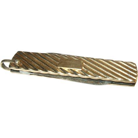 vintage pocket knife vintage gold filled pocket knife sold on ruby
