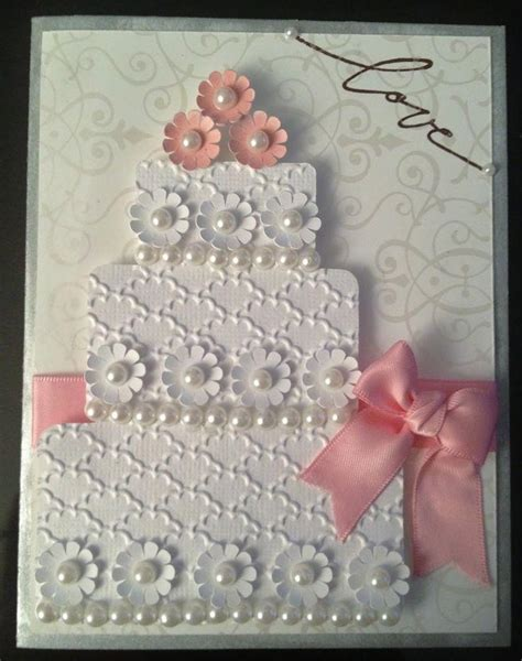 Wedding Card Handmade Ideas by Handmade Cards Wedding Cake Ideas And Designs