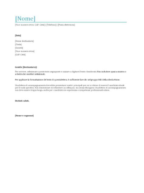 lettere presentazione curriculum lettera di presentazione per curriculum templates
