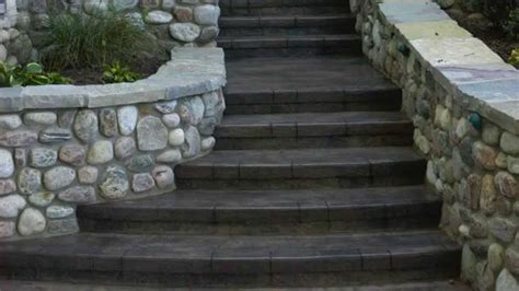 Stamped Concrete Overlay Mix Design Ideas   YouTube