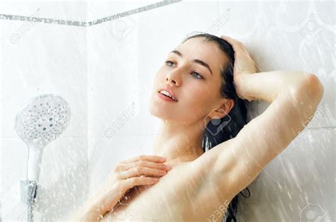 woman in bathroom glass mosaic shower page 6 tiling contractor talk