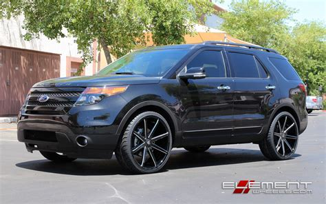 ford explorer on rims 2012 ford explorer factory 20 inch rims autos post