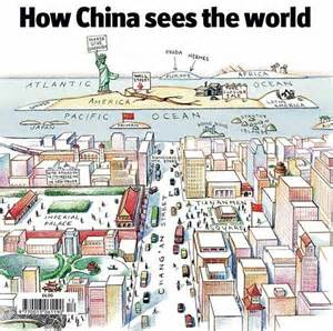 American Airlines Wifi by Cartoon How China Sees The World