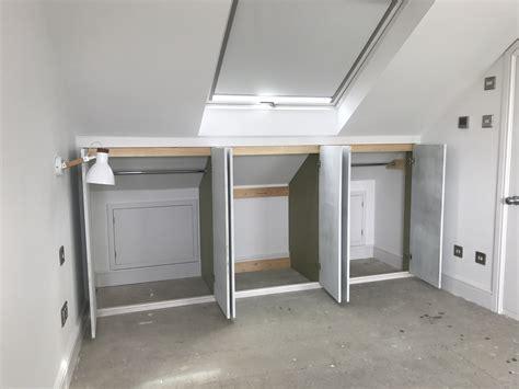 Dachboden Kleiderschrank by Low Attic Wardrobes Booker Designs